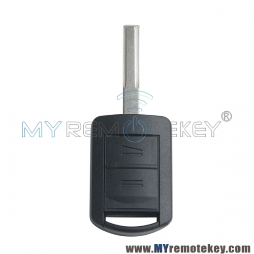 Remote key shell case for Opel Vauxhal HU43 2 button