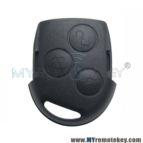 Remote key fob shell 3 button for Ford Focus Mondeo Fiesta C-max S-Max 2004-2012