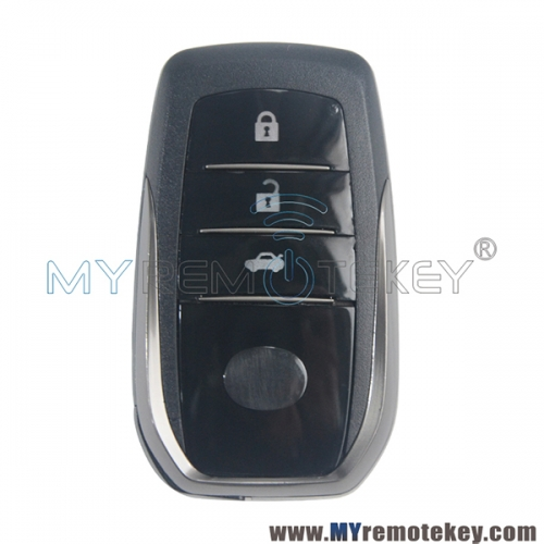 HYQ14FBA Smart key shell 3 button for Toyota GS350 2013-2015