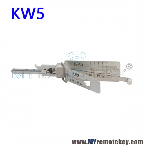 KW5 Lishi 2 in 1 Pick Decoder Tool