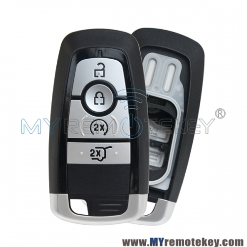 Smart key case 4 button for 2017 Ford Mondeo