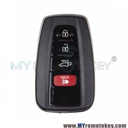 HYQ14FBC Smart key case 4 button for Toyota RAV4 2019 89904-0R030